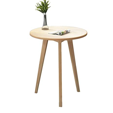 Woood Sidetable Job.Home Warehouse Multifunction Small Round Table Creative