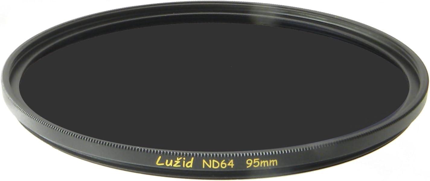 LUŽID X2 95mm ND64 MC Filter Schott B270 Glass Brass Frame ND 1.8 Multi-Coated 95 Luzid