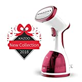 Kazoo Handheld Clothes Steamer - Travel Garment Steamer for Clothes - Portable Fabric Steamer Fast Heat up Powerful with 260ml Large Capacity - Instant Steam Iron Perfect for Traveling, Home and Gift