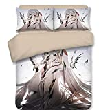 Sport Do Hatsune Miku Bedding Set and Pillowcase - Cartoon Duvet Cover Set Girls' Gift Princess Home Decoration Lovely Design Many Options Full 4PC