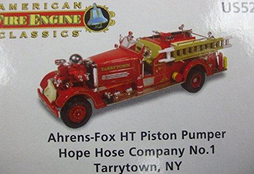 Corgi American Fire Engine Classics - Aherns - Fox Piston Pumper Hope Hose Company No.1- Tarrytown, NY - US52604