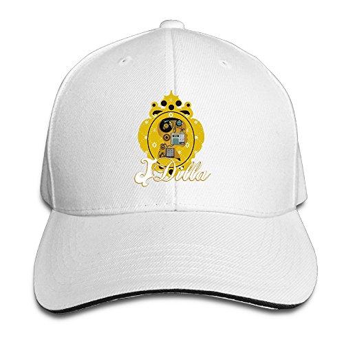 BAI XUE J Dilla Logo Baseball Cap White