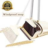 Best Broom For Hardwood Floors - OLLSDIRE Broom and Dustpan Set Outdoor or Indoor Review