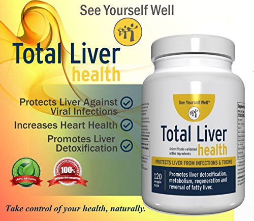 Total Liver Health: Liver Cleanse, Detox, Regeneration, Fatty Liver Reversal. Protection from Infections & Toxins. Trademarked Ingredient Picroliv. by See Yourself Well (Image #3)