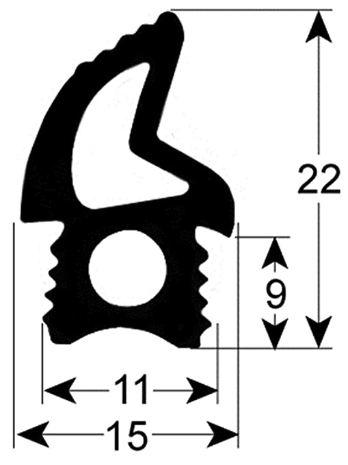 Junta de puerta para Unox XF113, XF133, XF193, XF135, XF183, XF119 ...