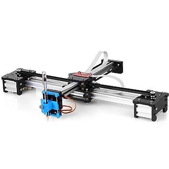 Máquina de dibujo, Robot de dibujo de 100-240VA DIY, Pluma de trazador XY de escritorio de 2 ejes ensamblada XY Robot de dibujo Kit de robot de escritura a mano de ...