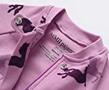 MMII pajamas Infant Baby Girls Footed Pajamas Horse