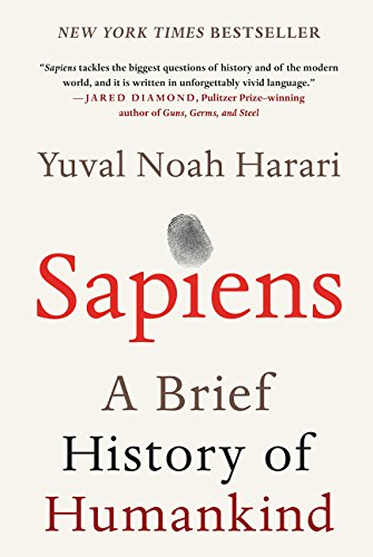 Book cover from Sapiens: A Brief History of Humankindby Yuval Harari