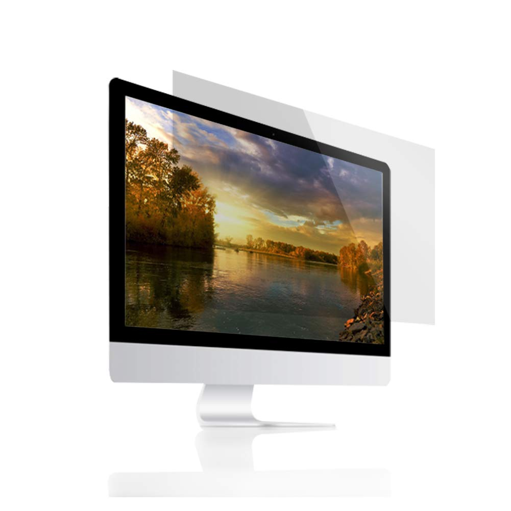 (BOZABOZA) 32'' Anti Blue Light Screen Filter [Ant-Blue Light] [Blocks UV] [Anti-Glare] [Anti-Scratch] [Matte or Gloss] Filtering Out Blue Light for Laptop, Notebook, LCD, Monitor, Display, 16 : 9