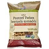 365 Everyday Value Organic Mini Pretzel Twists Unsalted, 8 oz