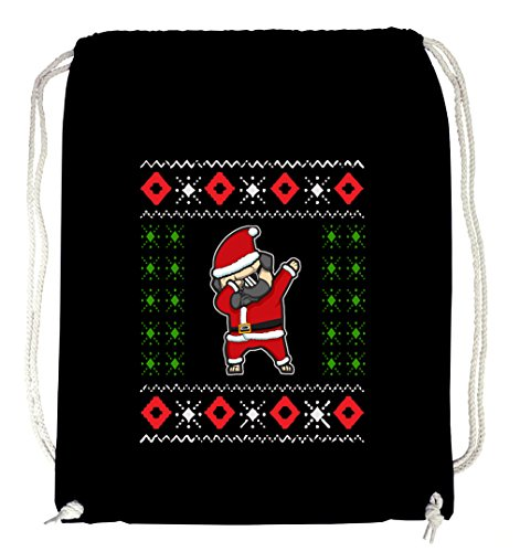 Dabbing Santa Gymsack Black Certified Freak