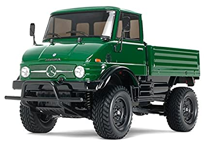 Mercedes Benz Unimog >> Amazon Com Tamiya 1 10 Mercedes Benz Unimog 406 Kit Cc01 Toys Games