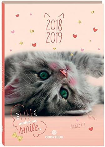 Oberthur – 1 agenda (gato Miaou – septiembre 2018 A septiembre ...