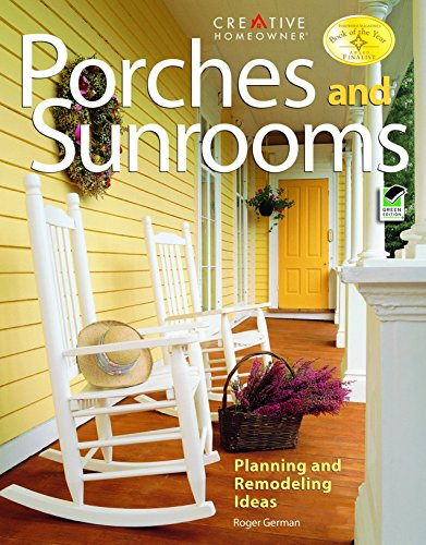 Cheap  Porches and Sunrooms: Planning and Remodeling Ideas (Home Improvement)