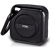 TDK Life On Record A12-2PK Trek Bluetooth Wireless Speaker, 2 Pack (Black)