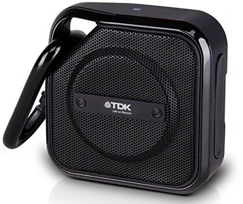 TDK A12 TREK Micro NFC Bluetooth Portable Mini Wireless Outdoor Speaker - Black from TDK Life on Record