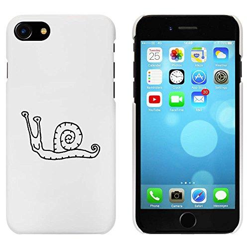 Blanc 'Escargot Heureux' étui / housse pour iPhone 7 (MC00065772)