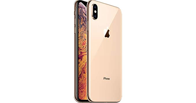 best website 7798f ae98b Apple iPhone XS Max, Fully Unlocked, 256 GB - Gold (Renewed)
