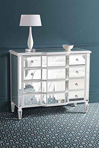 My Furniture Verspiegelte Kommode Leonore Reihe Amazon De Kuche