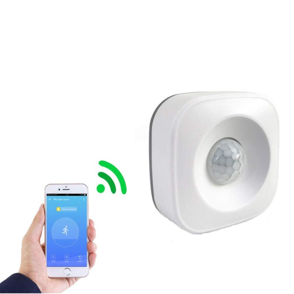 VIMOER PIR Motion Sensor - WiFi PIR Motion Sensor for Home Security Alarm Compatible with Smart Life Google Home and More