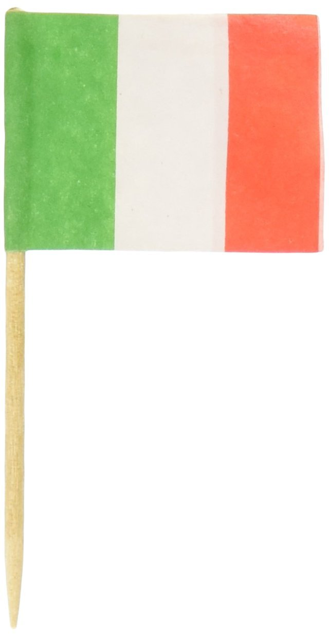 Royal 144 Count Italian Flag Picks, Multicolored WB 485R829-144