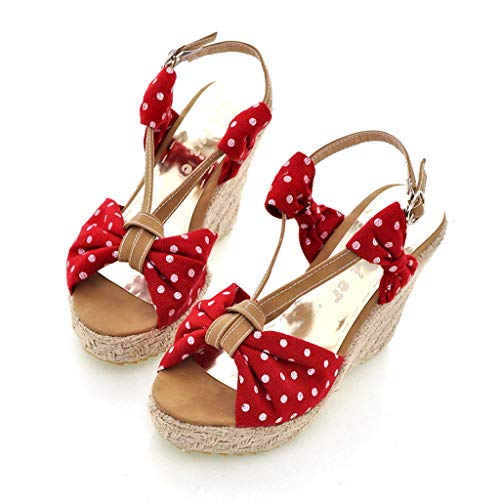 Sandals Red Ballerine Sandals Veyikdg Veyikdg Donna Sandals Veyikdg Red Ballerine Donna Ballerine Oq5waP