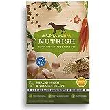 Rachael Ray Nutrish Natural Dry Dog Food, Real Chicken & Veggies Recipe, 28 lbs