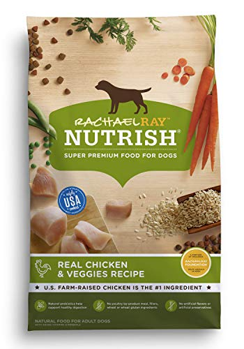 Rachael Ray Nutrish Natural Dry Dog Food, Real Chicken & Veggies...