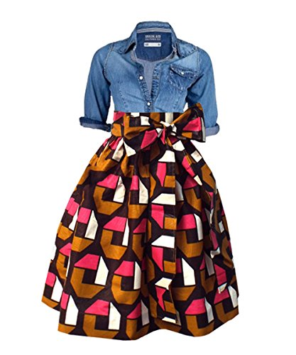 Buy dress with a full skirt - 4