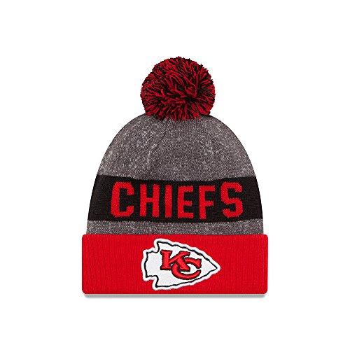 8e4a4206da5 ... clearance kansas city chiefs new era 2016 nfl sideline on field sport knit  hat red cuff