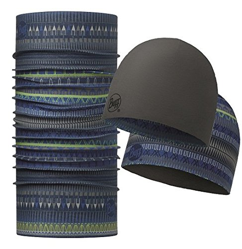 Buff Original Hat & Neckwear Set, Oslo Blue, One (Blue Neckwear)