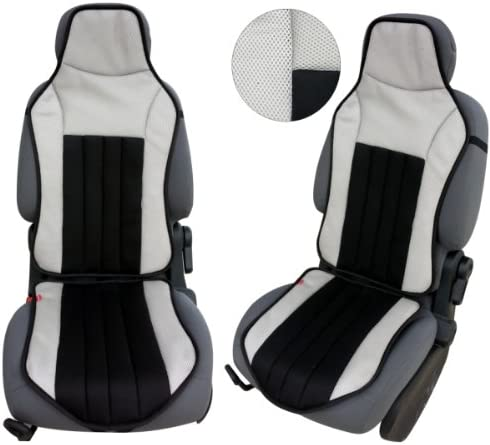 Car Seat Cover Grey//Black Akhan CSC104