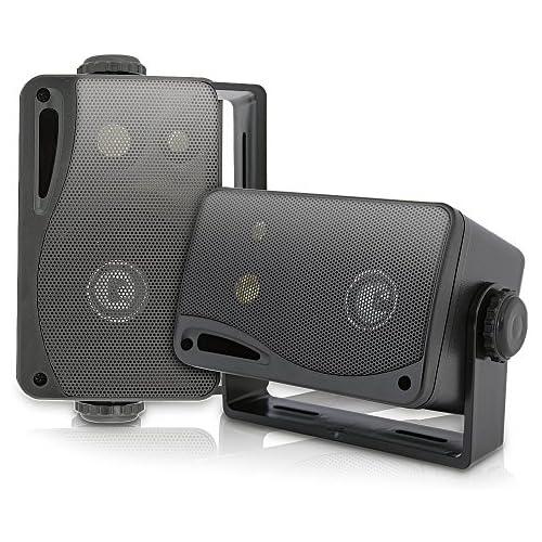 chollos oferta descuentos barato Pyle PLMR24B Altavoces portátiles resistente al agua negro