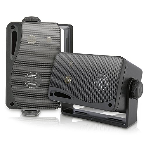 3-way Mini Box Speaker System - 3.5 Inch 200 Watt Weatherpro