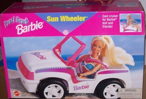 Barbie Pearl Beach Sun Wheeler