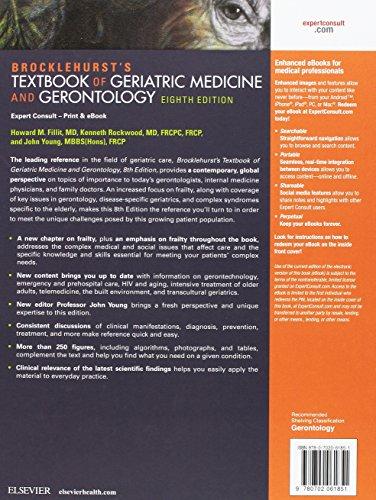 Brocklehurst's Textbook of Geriatric Medicine and Gerontology, 8e