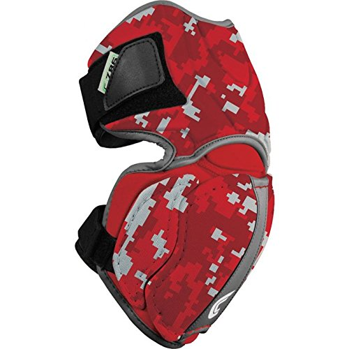 Cutters Ultra Flex-Cap Elbow Guard, Medium, Left, Red/Camo