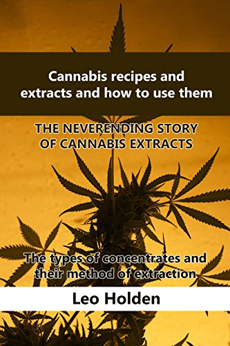Cannabis recipes and extracts and how to use them:  THE NEVER-ENDING STORY OF CANNABIS EXTRACTS: The types of concentrates and their method of extraction