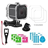 Gopro Hero 5 Session Accessories, Waterproof Housing Protective Case for Gopro Hero5 Session 45m Underwater Diving shell