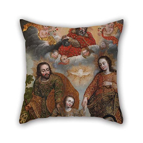 Pillow Covers Of Oil Painting Anonymous Cusco School