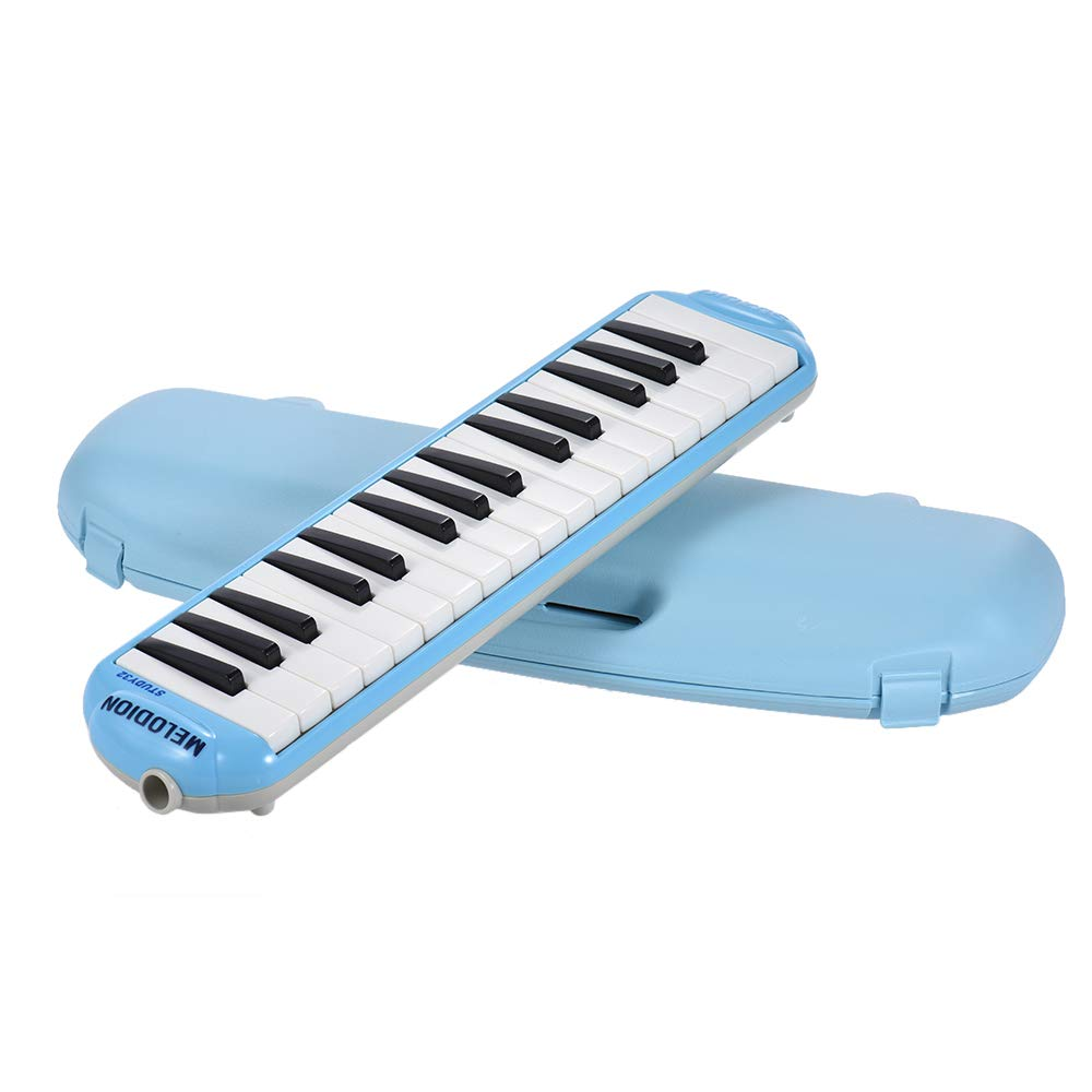 Festnight Melodica Instrument, 32 Keys Musical Educational Melodion Pianica with Hard Case for Beginners Kids Children Students