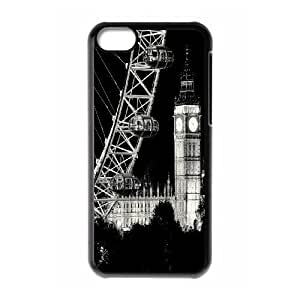 AinsleyRomo Phone Case Big Ben Clock tower on london pattern case For Iphone 5c FSQF503327