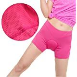 Harmony Life 3D Silicone Padded Bicycle Cycling Underwear Shorts, Breathable Lightwear Underpants for Man Women