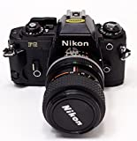 Nikon FG 35mm Film SLR Camera Black Body