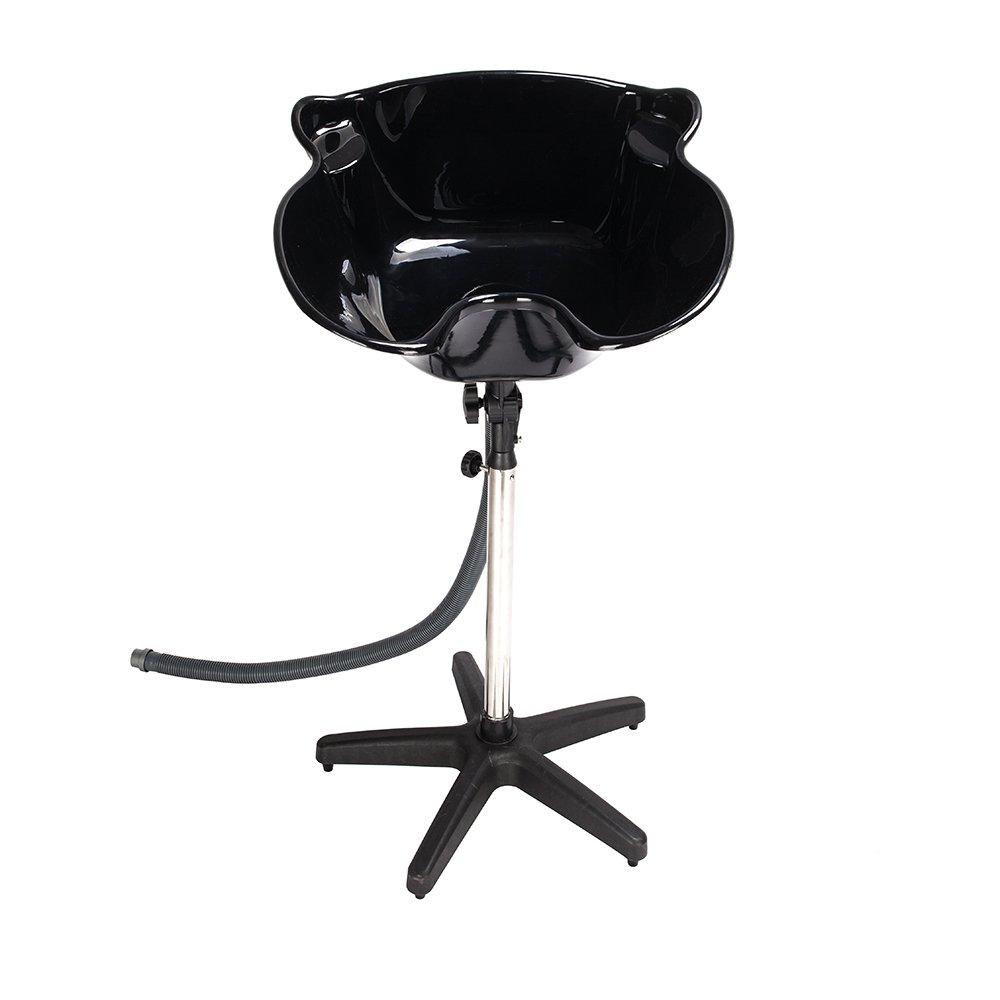 Portable Shampoo Bowl Deep Basin Height Adjustable Hair Wash Salon Treatment