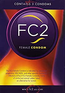 FC Female Condom - Quantity - 3 Pack