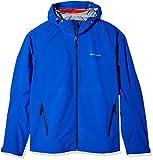 Champion Men's Stretch Waterproof Rain Jacket-Big Sizes, Awesome Blue, 4X-Large