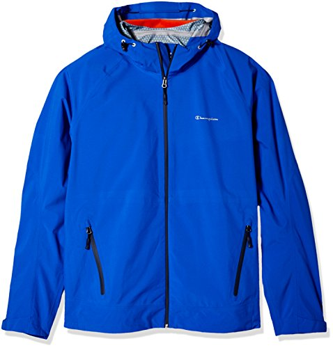 Champion Men's Stretch Waterproof Rain Jacket-Big Sizes, Awesome Blue, 4X-Large