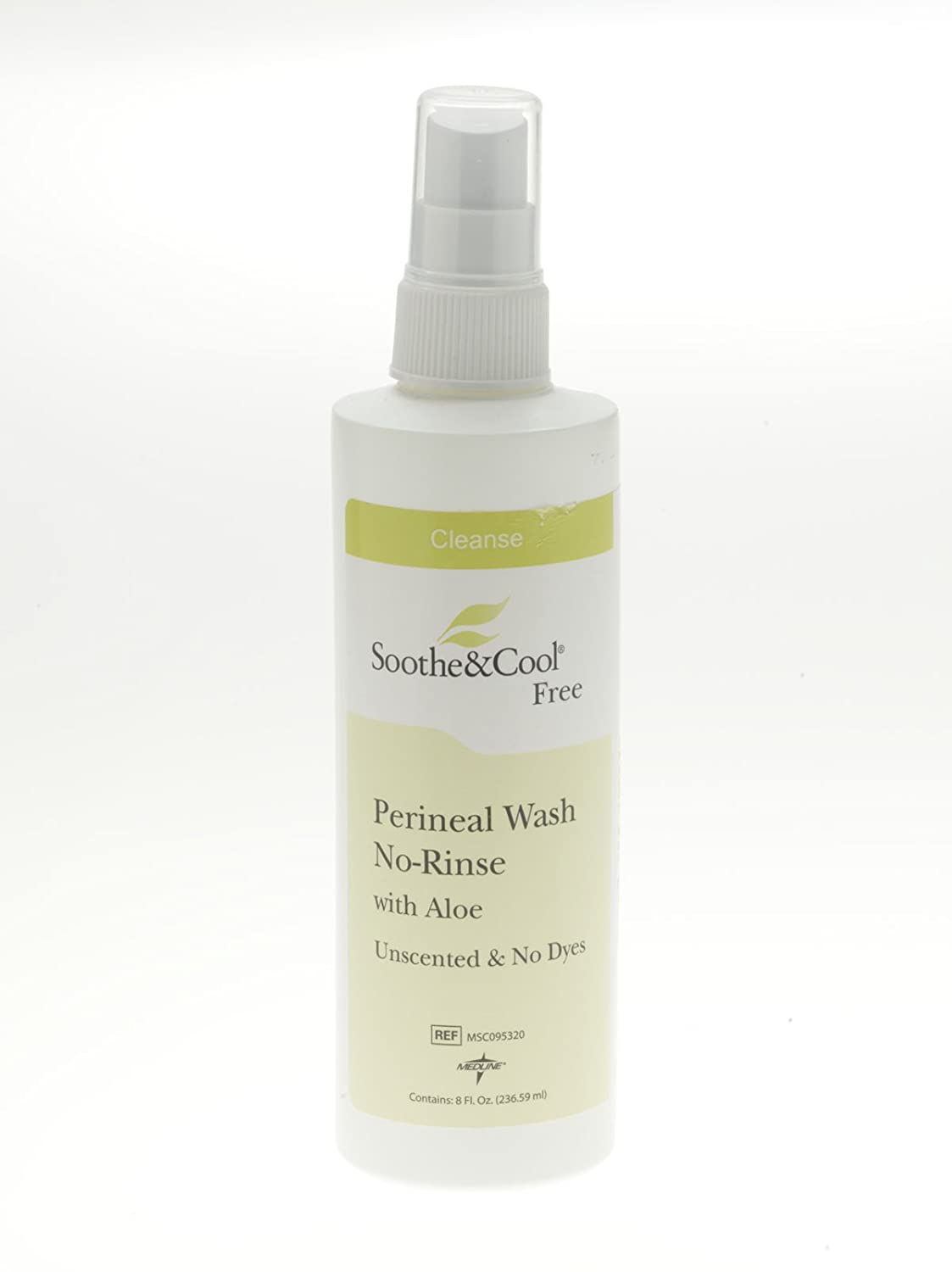 ^Soothe & Cool No-Rinse Perineal Spray - 8 oz spray Min.Order is 1 CS ( 12 Each Case; )