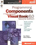 img - for Programming Components with Microsoft Visual Basic 6.0 (Microsoft Programming Series) book / textbook / text book